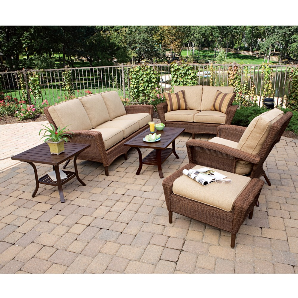Cheap Outdoor Cushioned Chairs & Sofas by Martha Stewart